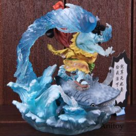 Anime One Piece Jinbe Figure PVC Collectible Action Figure Model Toy Doll For Gi