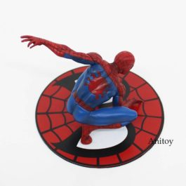 ARTFX + STATUE Spiderman The Amazing Spider-man PVC Action Figure Collectible Mo