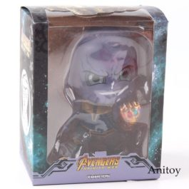 Avengers Infinity War Marvel Thanos with Gauntlet Glove Ver. PVC Collectible Fig