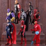 Action Figure DC Marvel Batman Superman Thor Thanos Spiderman Deadpool Iron Man