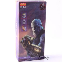 Hot Toys Avengers Infinity War Thanos Action Figure 1/6 Scale PVC Collectible Mo