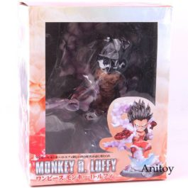 Anime One Piece Figure Luffy Gear Fourth Monkey d Luffy Action Figure Collectibl