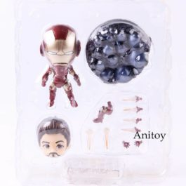 Avengers Infinity War Action Figure Iron Man Mark 43 Heros Edition Collectible M