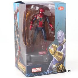 Avengers Infinity War Action Figures Marvel Spiderman Iron Spider with LED Light