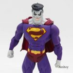 DC COMICS Super hero Evil Superman PVC Figure Collectible Model Toy 18cm KT3972