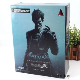 Batman Joker Figure Play Arts KAI Action Figure Arkham Origins NO. 4 The Joker T