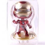 Avengers Infinity War Action Figure Iron Man With LED Light Up Function Mini Col