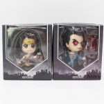 Justice League Cosbaby Collectible Set Superman Laser Eyes Wonder Woman PVC Acti