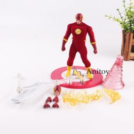 DC Comic The Flash Action Figure Speed Force Runing PVC Collectible Toy 15cm