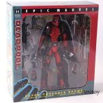 NECA Epic Marvel Deadpool Figure Action Ultimate Collector's 1/10 Scale PVC Coll