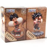 One Piece Action Figure Monkey D Luffy Funny Expression PVC Collectible Model To