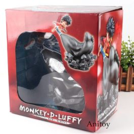 One Piece Figure One Piece Anime Mokey D Luffy Action Figure Strawhat Luffy Gomu