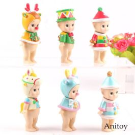 Sonny Angel Christmas Series Limited Mini Ver. PVC Action Figure Collection Mode