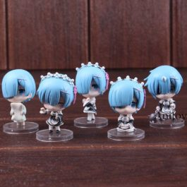 Re:Life in a Different World from Zero Anime Figure Rem Q Version PVC Re: Zero R