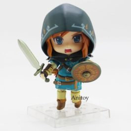 Legend of Zelda Breath of the wild Link 733 DX/ 733 Edition Nendoroid Doll PVC A