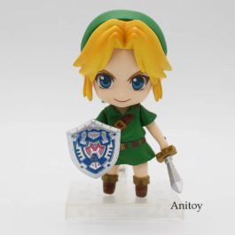 Cute Nendoroid The Legend of Zelda Link Majora's Mask 3D Ver. #553 PVC Action Fi
