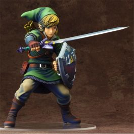 Anime The Legend of Zelda Link PVC Action Figures Collectible Model Toys 20cm KT