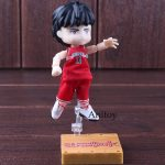 Slam Dunk Rukawa Kaede Ice Clothes PVC Anime Action Figure Collectible Model Toy