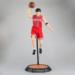 Slam Dunk #11 Rukawa Kaede Variable Doll PVC Action Figure Collectible Model Toy