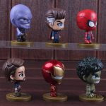 Avengers Figures Toys Iron Man Spiderman Thanos Captain America Doctor Strange H