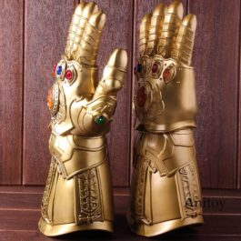 High Quality Cosplay Thanos Infinity Gauntlet Glove LED Avengers Infinity War Ma