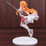 Action Figure Sword Art Online Ordinal Scale Asuna 1/7 Scale Complete Figure PVC