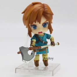 Legend of Zelda Breath of the wild Link 733 DX Edition Nendoroid Doll PVC Action