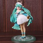 Anime Figurine Hatsune Miku Toy 2nd Season Winter Ver. Hatsune Miku PVC Action F