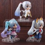 2018 Snow Miku Hatsune Miku Figurine Q Version NO: 003/004/005 PVC Action Figure