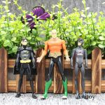 10pcs/set DC Comics Super Hero Superman Black Canary PVC Action Figure Collectib