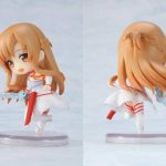 Sword Art Online Fairy Dance Kirito Asuna Lefa PVC Action Figures Toys 6pcs/set