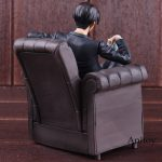 Attack on Titan Anime Levi Ackerman in Sofo Teen Titans Figure PVC Attack Titan