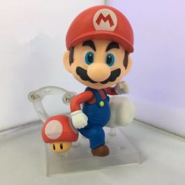 Nendoroid Super Mario Bros Wii Figure Mario / Luigi PVC Action Figure Party Deco