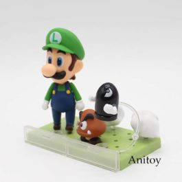 Super Mario Bros Wii Figure Mario #473 / Luigi #393 Action Figure Nendoroid Part