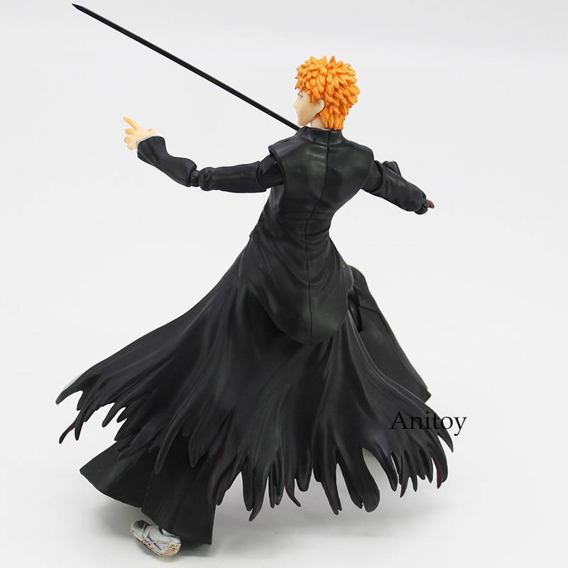 Play Arts Kai Bleach Ichigo Kurosaki PVC Action Figure Collectible Model Toy