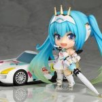 Anime Hatsune Miku Racing Miku Cute Nendoroid 517# PVC Action Figure Collectible