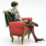 Attack on Titan Levi Ackerman With Sofa Sitting Ver. PVC Figure Collectible Mode