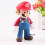 Super Mario Bro Figure Mario Action Figure PVC Collectible Toy for Kids Gift 12c
