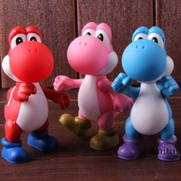 Super Mario Bros Action Figure Yoshi Super Size Figure Collection PVC Collectibl