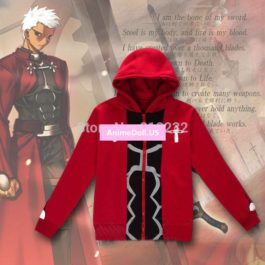 Fate/stay night Archer Hoodie Coat Jacket Outwear Sweater Cosplay Costumes