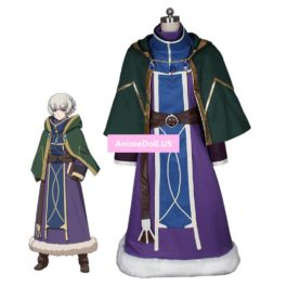 Re:CREATORS Meteora Osterreich Uniform Tops Cloak Outfit Anime Cosplay Costumes