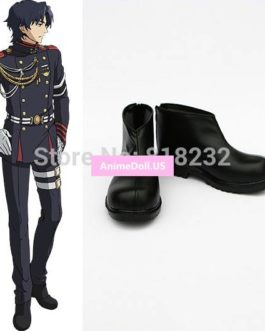 Seraph of the end Guren Ichinose Unisex Anime Cosplay Costumes Shoes Boots Customize