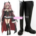 Seraph of the end Krul Tepes Unisex Anime Cosplay Costumes Shoes Boots Customize