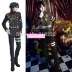 Seraph of the end Guren Ichinose Coat Pants Uniform Outfit Anime Cosplay Costumes