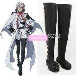 Seraph of the end Ferid Bathory Unisex Anime Cosplay Costumes Shoes Boots Customize