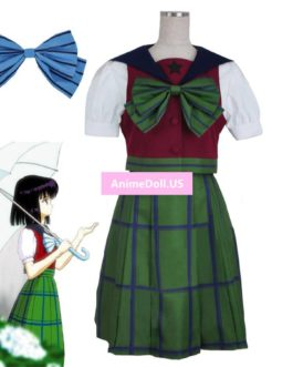 Sailor Moon Sailor Saturn Sailor Suit School Uniform Tops Dress Outfit Anime Cosplay Costumes