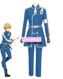 Sword Art Online Alicization Eugeo Synthesis Thirty-two Uniform Coat Pants Outfit Anime Cosplay Costumes