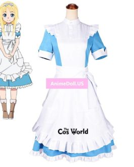 Sword Art Online Alicization Alice Synthesis Thirty Lolita Maid Apron Dress Uniform Outfit Anime Cosplay Costumes