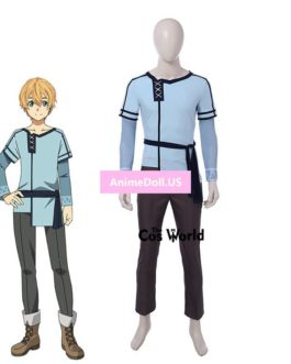 Sword Art Online Alicization Eugeo Tops Pants Uniform Outfit Anime Cosplay Costumes