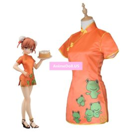 Toaru Kagaku no Railgun Misaka Mikoto Cheongsam Dress Uniform Outfit Anime Cosplay Costumes